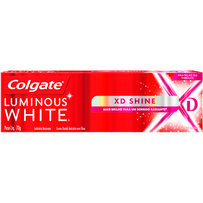 Creme Dental terapêutico XD shine 70g Luminous White Colgate  UN