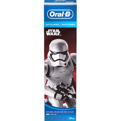 Creme Dental tradicional star wars 90g Oral-B  UN