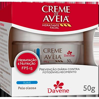 Creme Facial Hidratante Suave FPS15 50g Davene UN