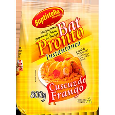 Cuscuz de frango pacote 800g Batpronto/Baptistella PCT