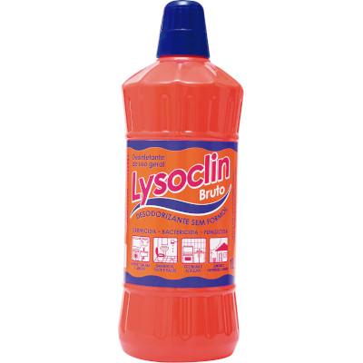 Desinfetante bruto bactericida 1Litro Lysoclin frasco FR