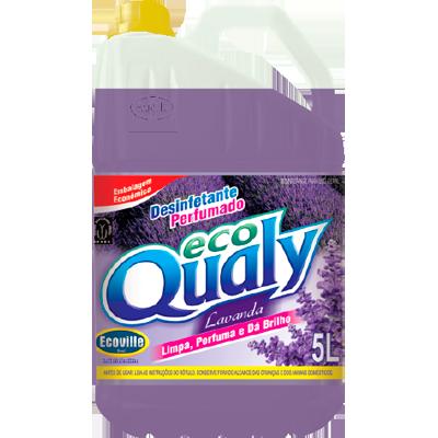 Desinfetante com álcool perfumado lavanda 5Litros Ecoville galão GL