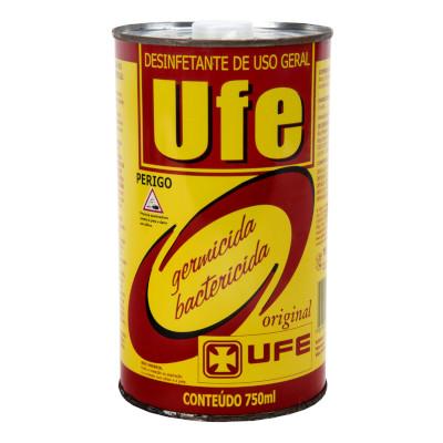 Desinfetante germicida e bactericida 750ml UFE lata UN