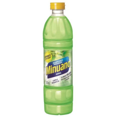 Desinfetante herbal 500ml Minuano frasco FR
