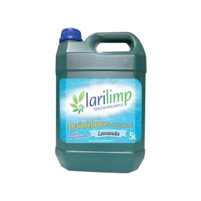 Desinfetante lavanda 5Litros Larilimp galão GL