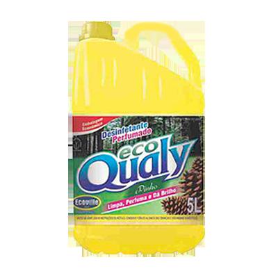 Desinfetante pinho amarelo galão 5Litros Ecoville GL