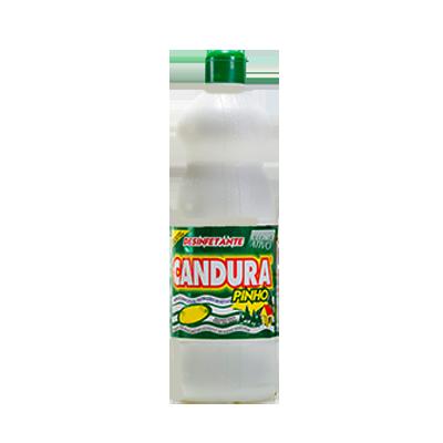 Desinfetante pinho cloro ativo frasco 1Litro Candura FR