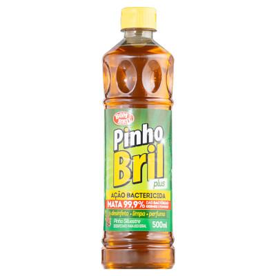 Desinfetante pinho silvestre 500ml Pinho Bril/Bombril frasco FR