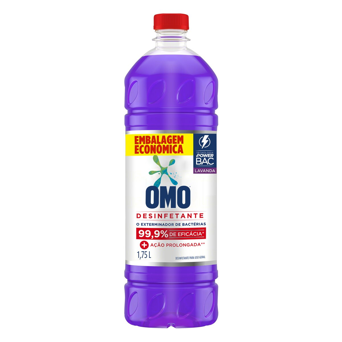 Desinfetante Uso Geral Lavanda 1,75Litro Omo frasco FR