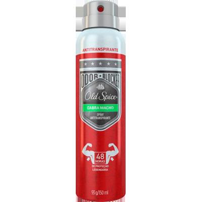 Desodorante aerosol cabra macho 150ml Old Spice  UN