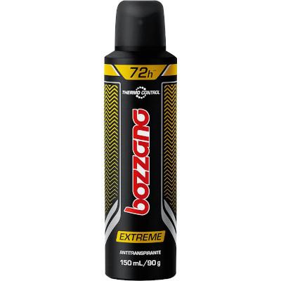 Desodorante aerosol Extreme 150ml Bozzano  UN
