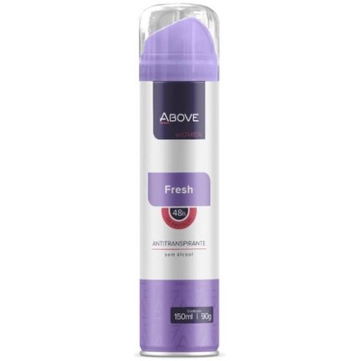 Desodorante Aerosol Fresh 150ml Above  UN