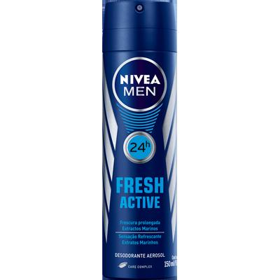 Desodorante aerosol fresh active 150ml Nivea Men  UN