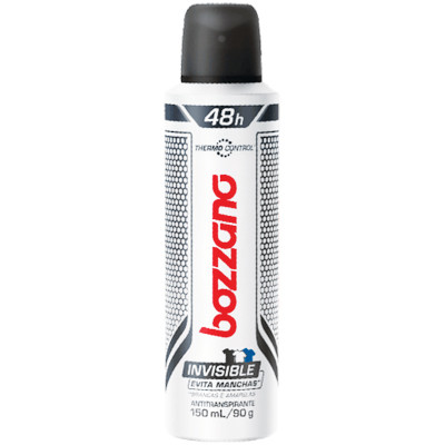 Desodorante aerosol invisible 150ml Bozzano  UN
