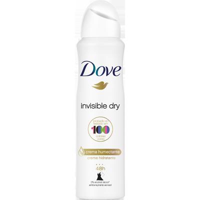 Desodorante aerosol invisible 150ml Dove  UN