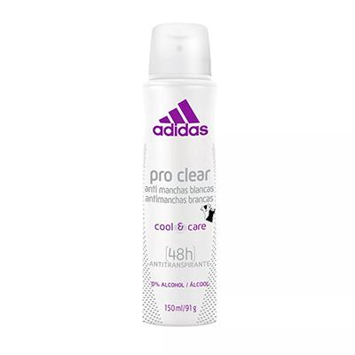 Desodorante aerosol pro clear 150ml Adidas UN