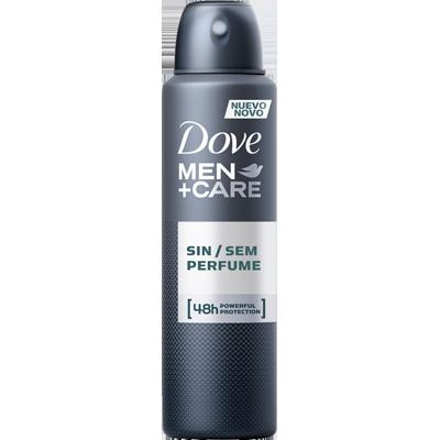 Desodorante aerosol sem perfume 150ml Dove Men  UN