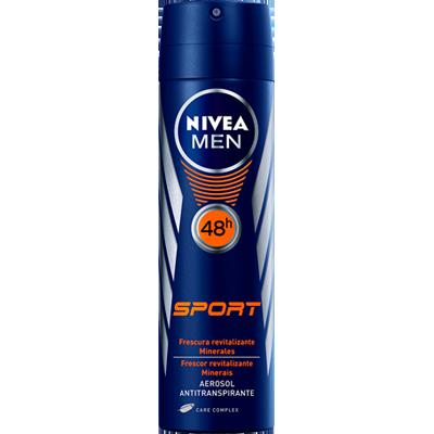Desodorante aerosol sport 150ml Nivea Men  UN