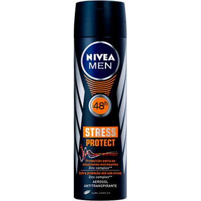 Desodorante aerosol stress protect 150ml Nivea Men  UN