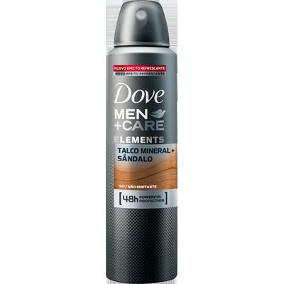 Desodorante aerosol talco+ sândalo 150ml Dove Men UN