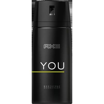 Desodorante aerosol you 90g Axe UN