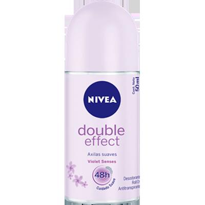 Desodorante roll-on double effect 50ml Nivea UN