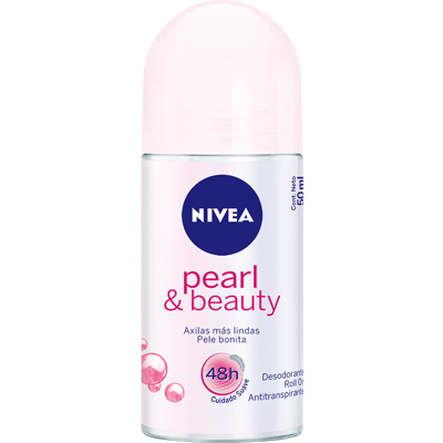 Desodorante roll-on pearl beauty 50ml Nivea  UN