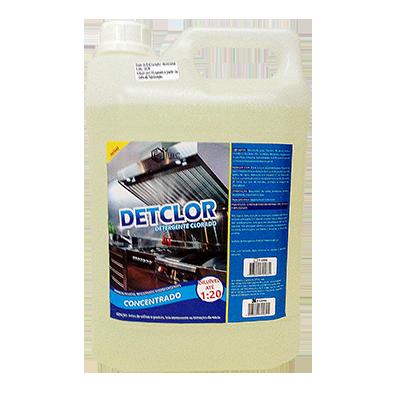 Detergente alcalino clorado galão 5Litros EBC GL