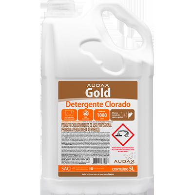 Detergente Clorado 5Litros Audax galão GL