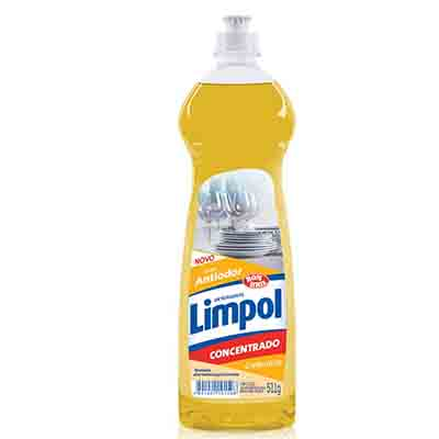 Detergente gel concentrado calêndula frasco 511g Limpol FR