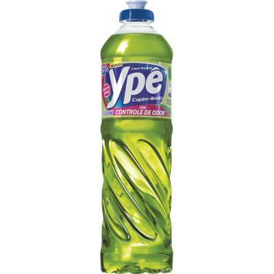 Detergente Líquido Capim Limão 500ml Ypê frasco FR