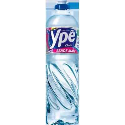 Detergente Líquido Clear 500ml Ypê frasco FR