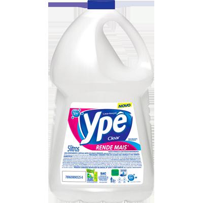 Detergente Líquido Clear 5Litros Ypê galão GL