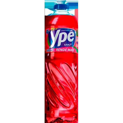 Detergente Líquido Maçã 500ml Ypê frasco FR