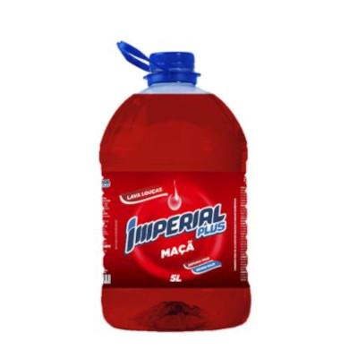 Detergente Líquido Maçã 5Litros Imperial Plus galão GL