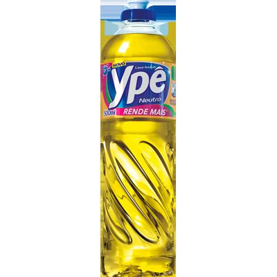 Detergente Líquido Neutro 500ml Ypê frasco FR