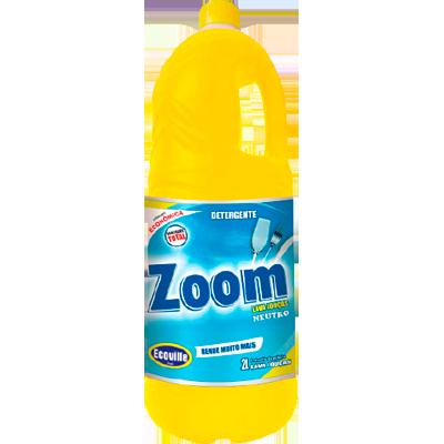 Detergente Líquido Neutro 2Litros Ecoville/Zoom galão GL