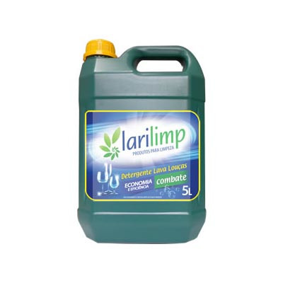 Detergente Líquido Neutro 5Litros Larilimp galão GL