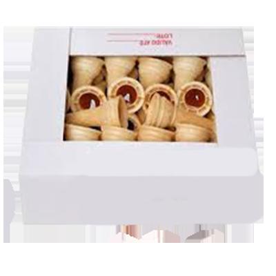 Doce de leite canudo caixa 50 unidades Clamel CX