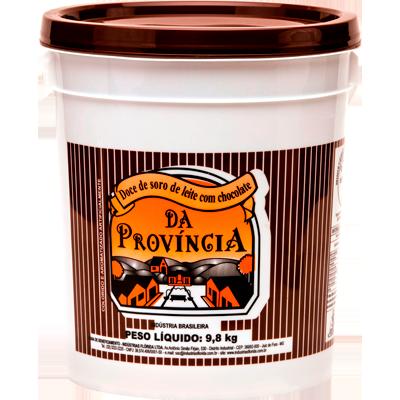 Doce de leite com chocolate cremoso balde por kg Provincia KG