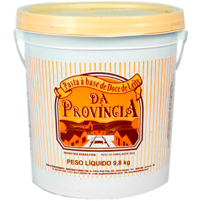 Doce de leite cremoso 9,8kg Provincia balde BD