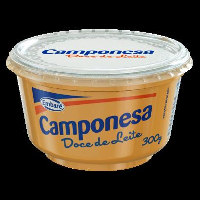 Doce de leite cremoso pote 300g Embaré/Camponesa UN