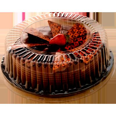 Embalagem cristal G/50MB para torta pequena 50 unidades Galvanotek caixa CX