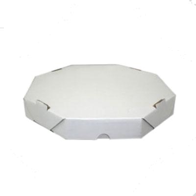 Embalagem para pizza oitavada 25cm lisa pacote 25 unidades Master Clean PCT