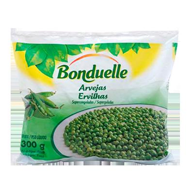 Ervilha congelada 300g Bonduelle pacote PCT