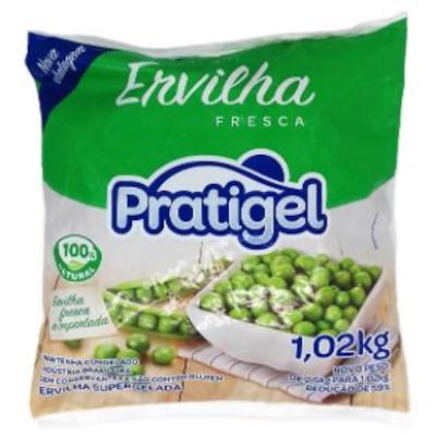 Ervilha congelada (pacote de 1 a 2,5kg) Pratigel por kg KG