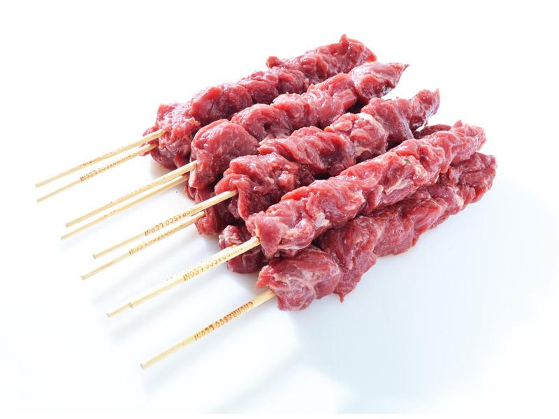 Espetinho de carne bovina de primeira resfriado por Kg Chef Meat KG