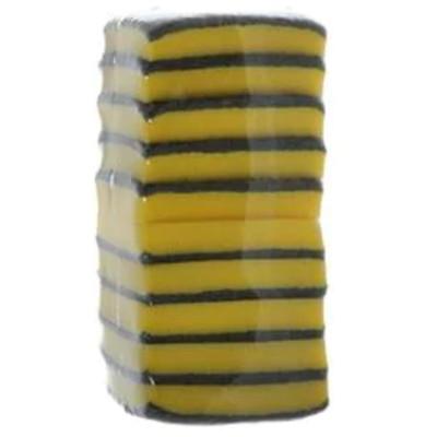 Esponja de limpeza multiuso 10 unidades Brilhus/Bettanin pacote UN