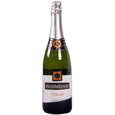 Espumante Nacional Moscatel 750ml Massimiliano garrafa UN
