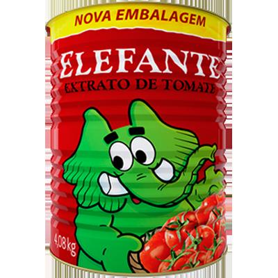 Extrato de tomate lata 4,08kg Elefante LT